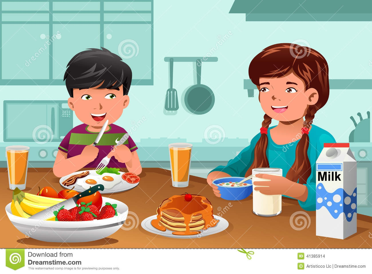 Healthy Breakfast Food Clipart#1975590.