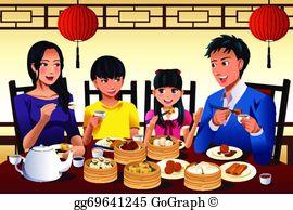 Family Restaurant Clip Art.