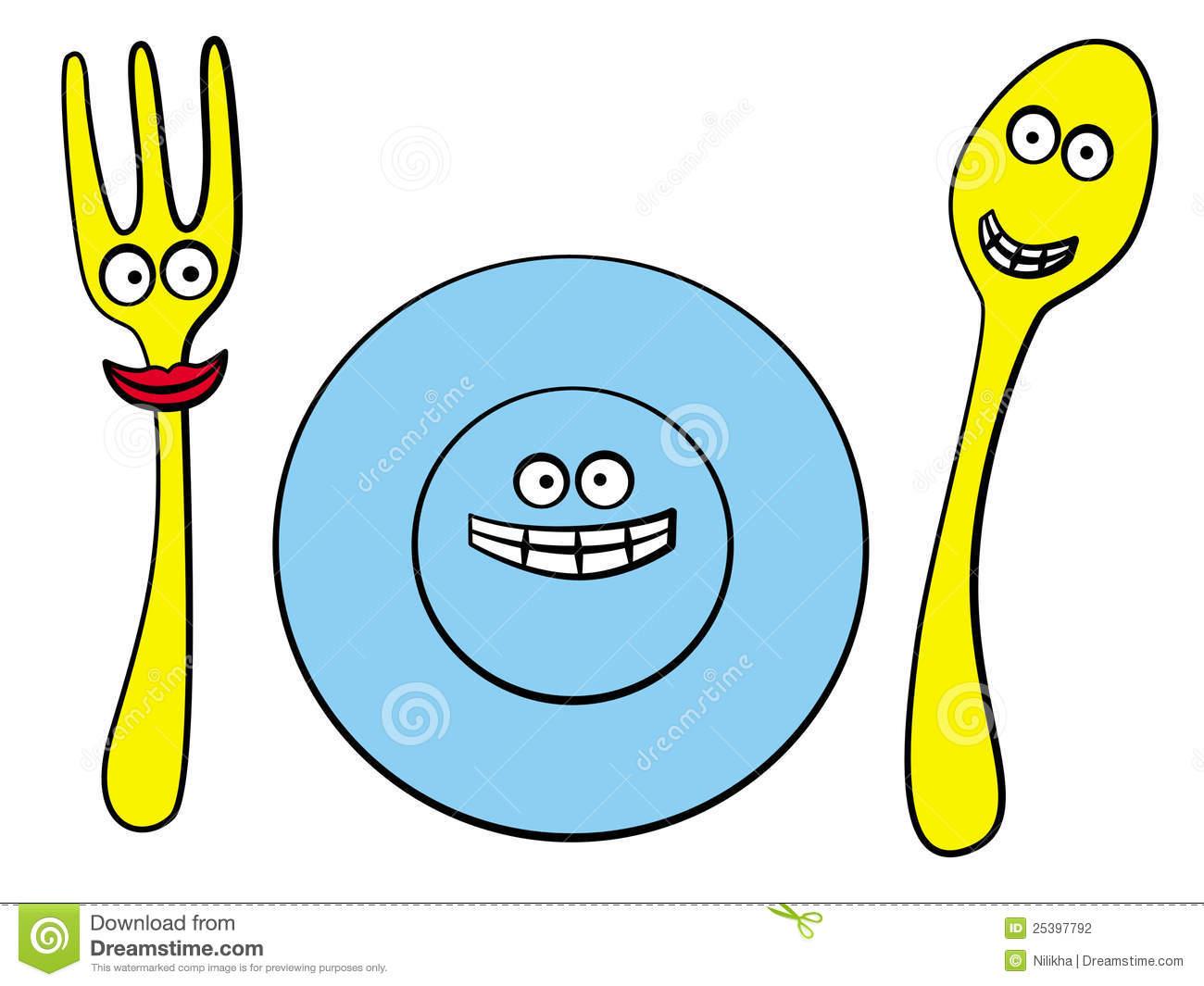 Eating utensil clipart - Clipground
