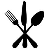 eating utensils : Vector.