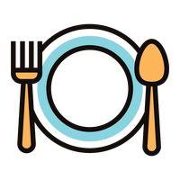 Icon Icons Tableware Tablewares Eating Utensils Cutlery Cutleries.