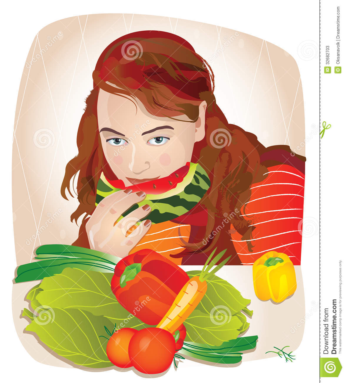Eating Fruits And Vegetables Clipart (71+).
