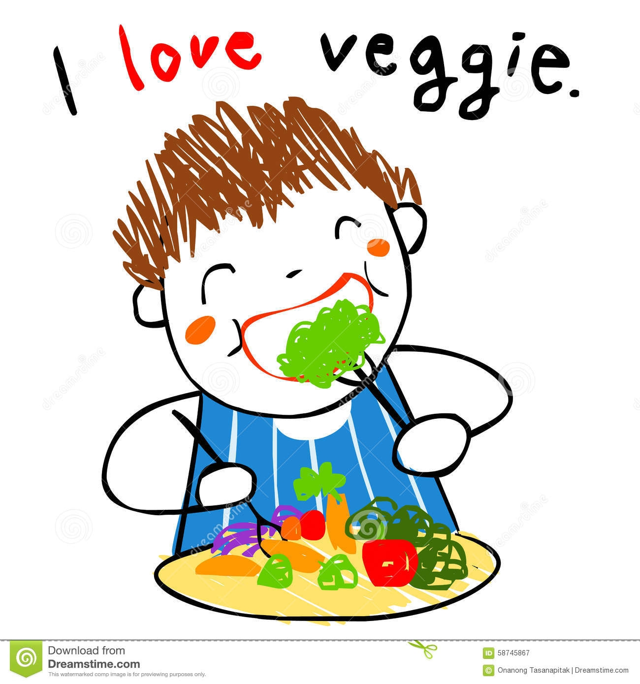 healthy vegetables clipart - Clipground