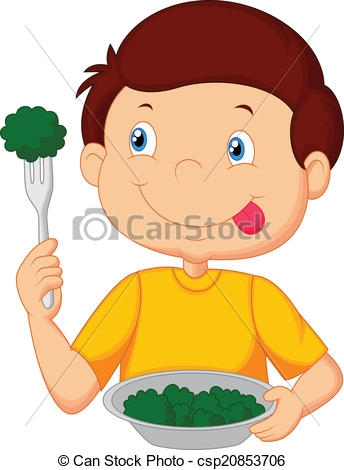 Healthy Vegetables Clip Art.