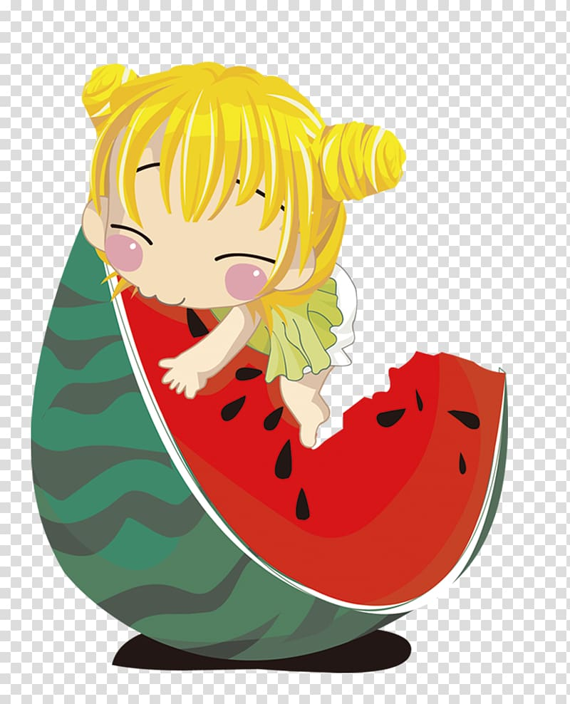 Girl eating watermelon , Watermelon Girl Eating, Cute baby eat.