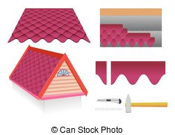 Tile roof Illustrations and Clip Art. 2,609 Tile roof royalty free.