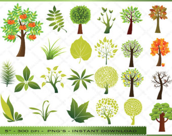 Tree And Leaf Clipart Trees And L Eaves Clip Art Images For.