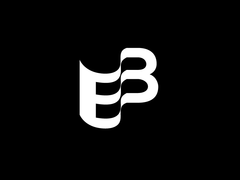 EB Letters Logotype by Gabriel Maiorano on Dribbble.