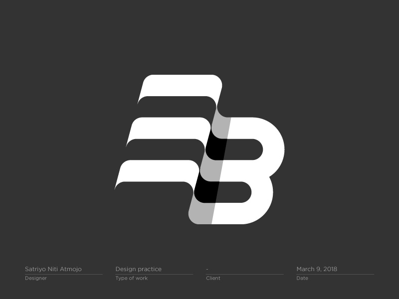 BE / EB monogram.