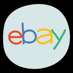 Ebay Logo Icon of Doodle style.