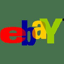 Ebay Logo transparent background image.