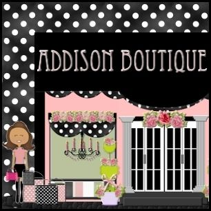 Addison Boutique eBay Store Design Storefront Header Logo.