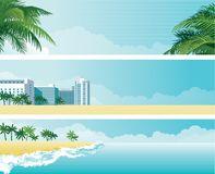 Hotel Ebb Tide Stock Illustrations.