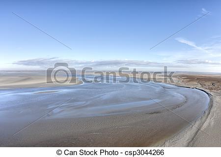 Stock Image of Ebb tide.