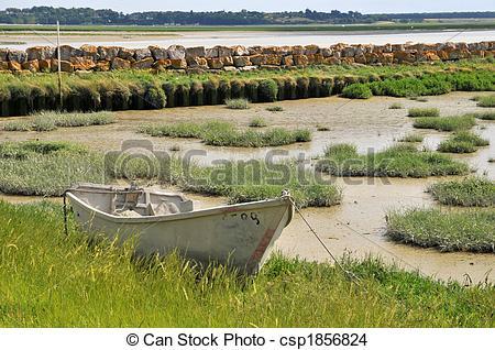 Stock Photo of Ebb tide.