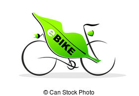 E bike Stock Illustrations. 109 E bike clip art images and royalty.