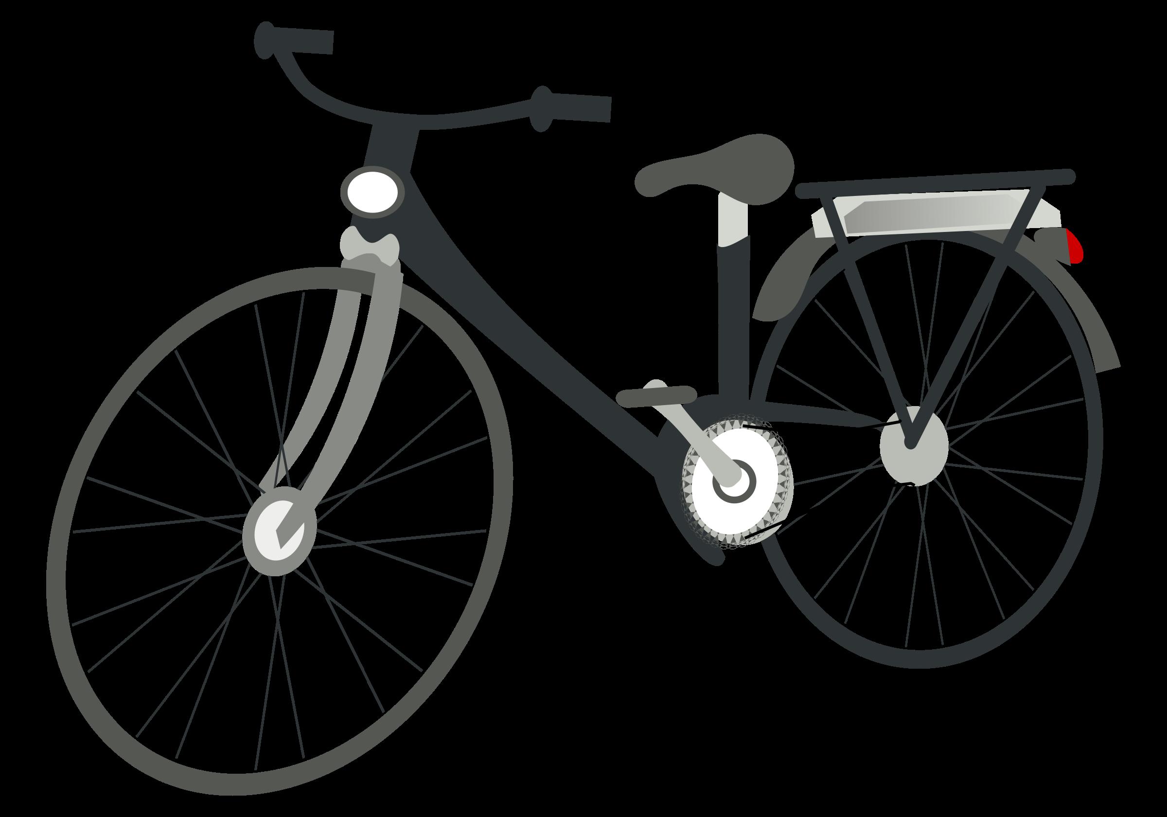 E bike clipart.