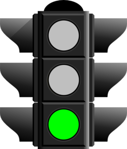Green Light Clipart.