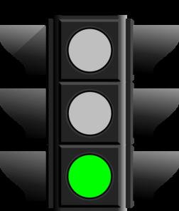Green Light Clipart.