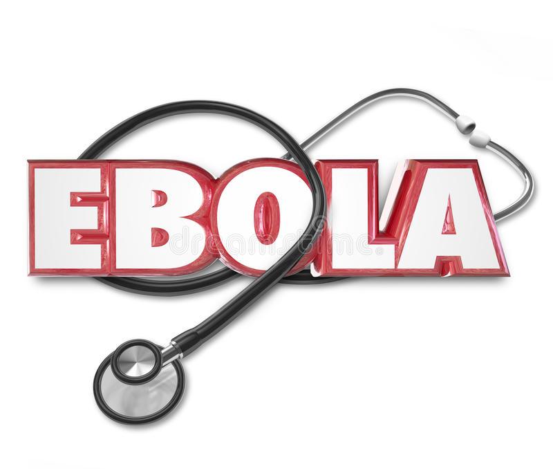 Ebola Word Stock Illustrations.