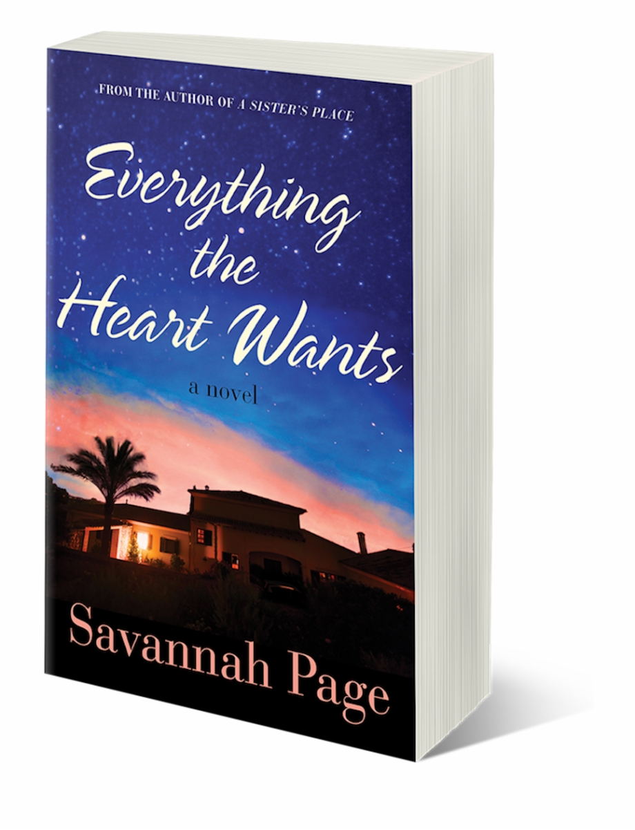 Ebook Cover 3d Everything The Heart Wants.
