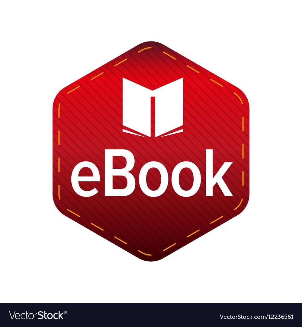 Ebook icon sign.