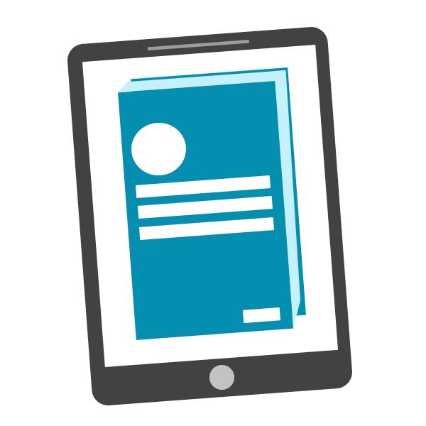 Ebook Icon Png #7124.