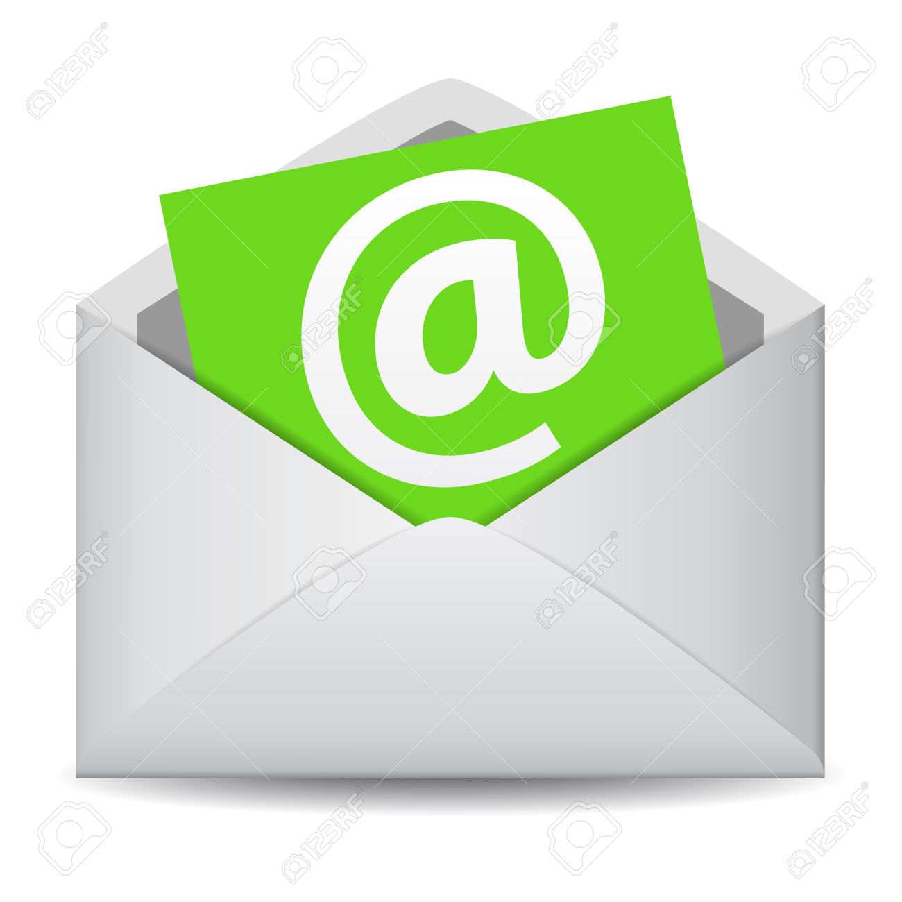 Email Icon Vector Clip Art For Web Contact And Business Newsletter.