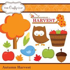 Instant Download Farm Animals Barnyard Digital Clip Art for Card.