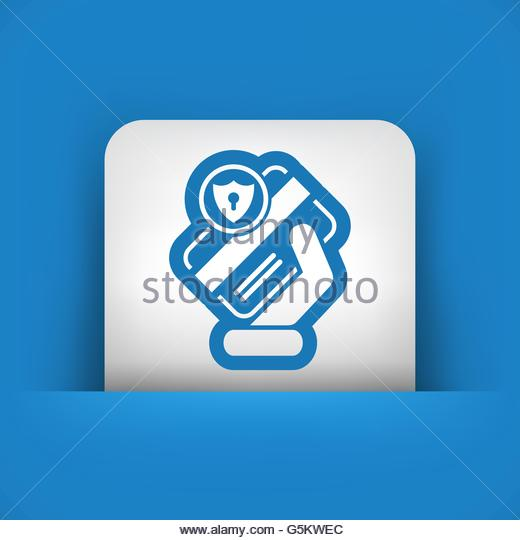 Safe Secure Online Transaction Payment Stock Vector Images.