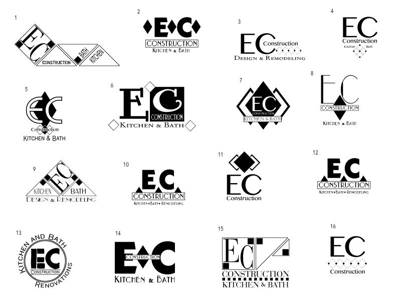 TISC Studios: EC Construction: Logo Set 01.