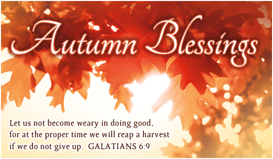 Autumn Blessings Autumn Holidays Ecard Free Christian Ecards.