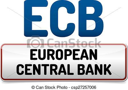 Vector Clipart of ECB.