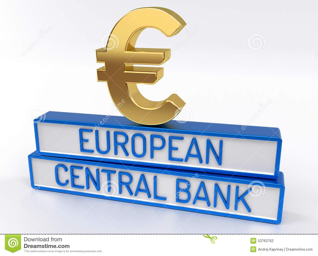 ECB European Central Bank.