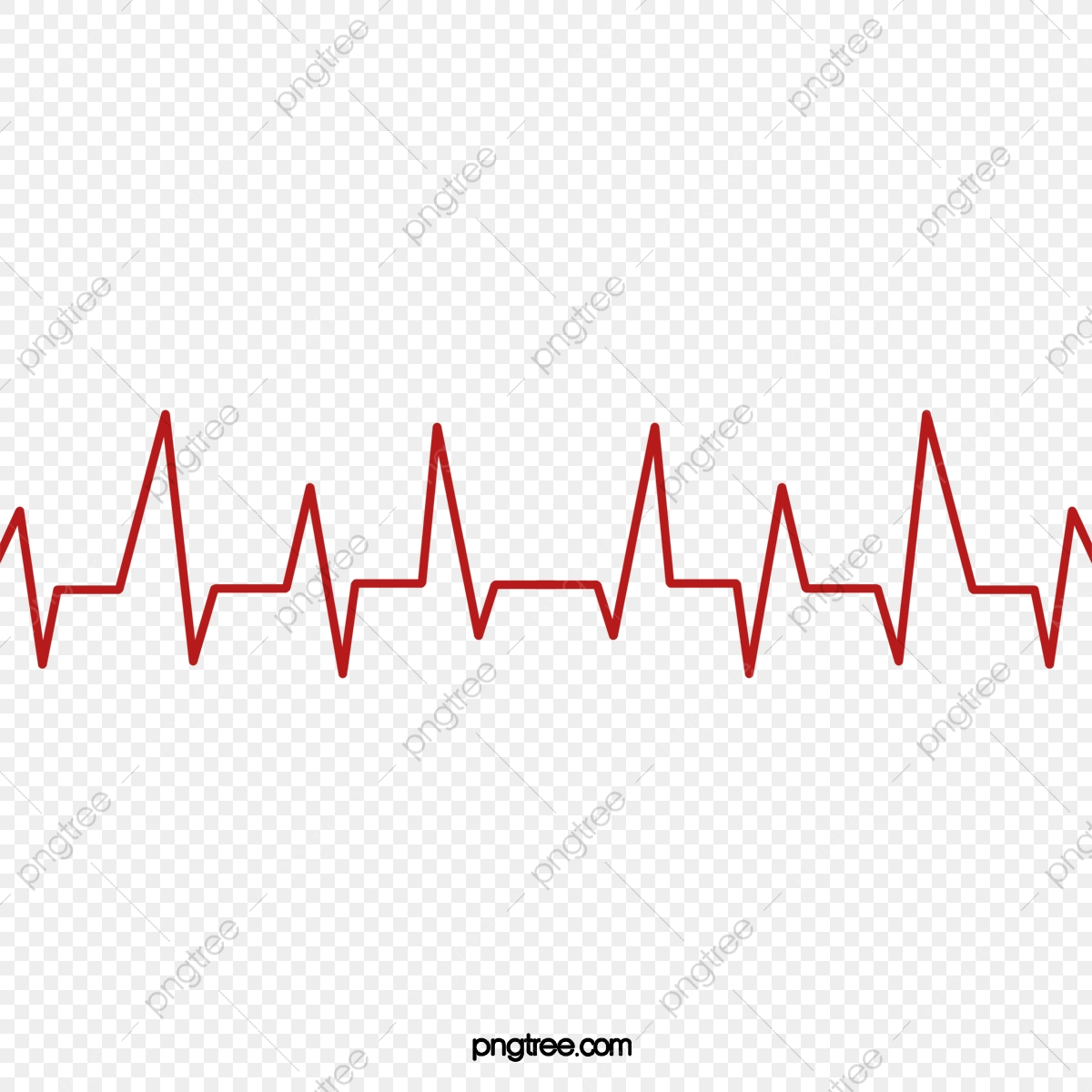 Ecg Line, Line Vector, Red Lines, Public Welfare PNG and Vector with.