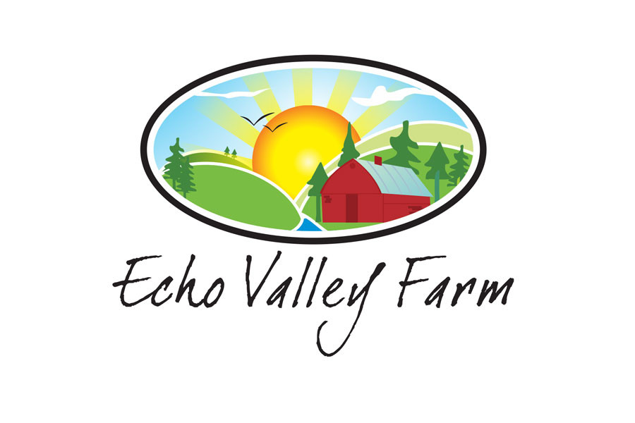 Entry #575 by ulogo for Logo Design for Echo Valley Farm.