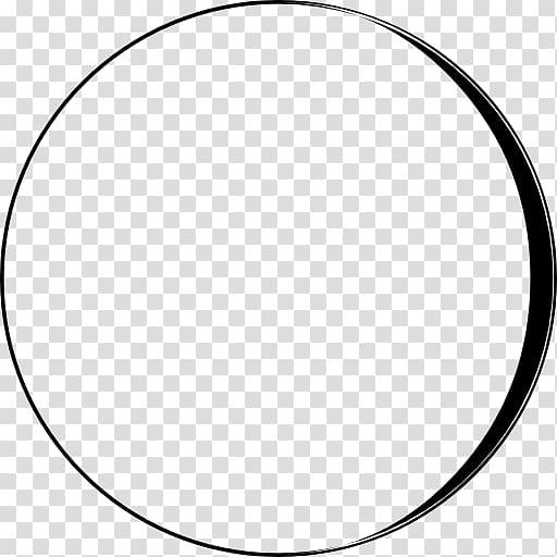 Lunar eclipse Circle Lunar phase Moon Symbol, moon phase.