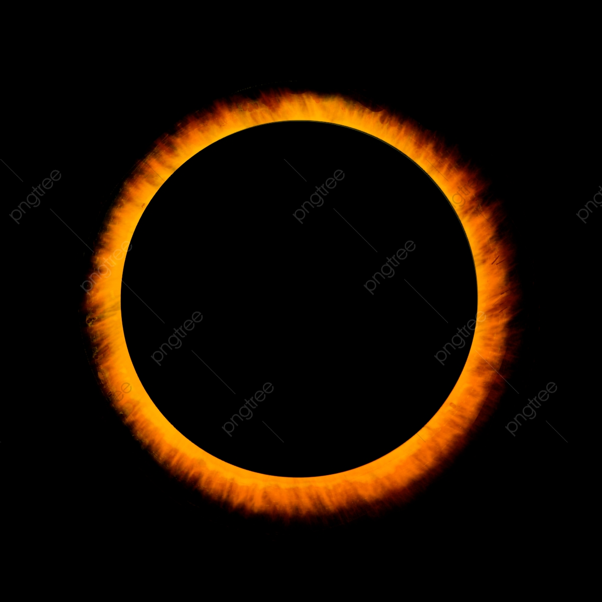 Solar Eclipse, Sun, Star PNG Transparent Clipart Image and PSD File.