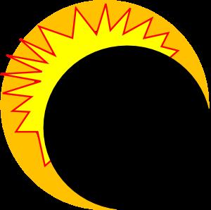 Eclipse Moon Clipart.