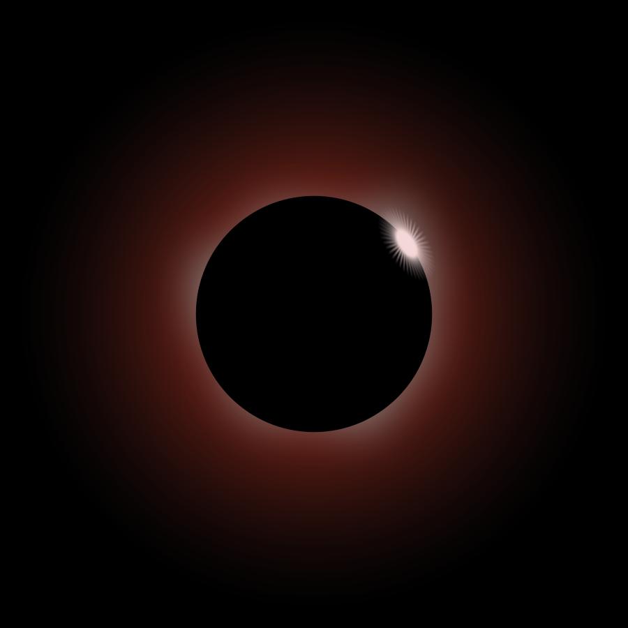 eclipse brown Clipart, vector clip art online, royalty free design.
