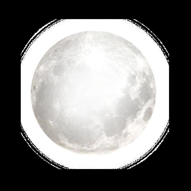 Full Moon Transparent Clipart.