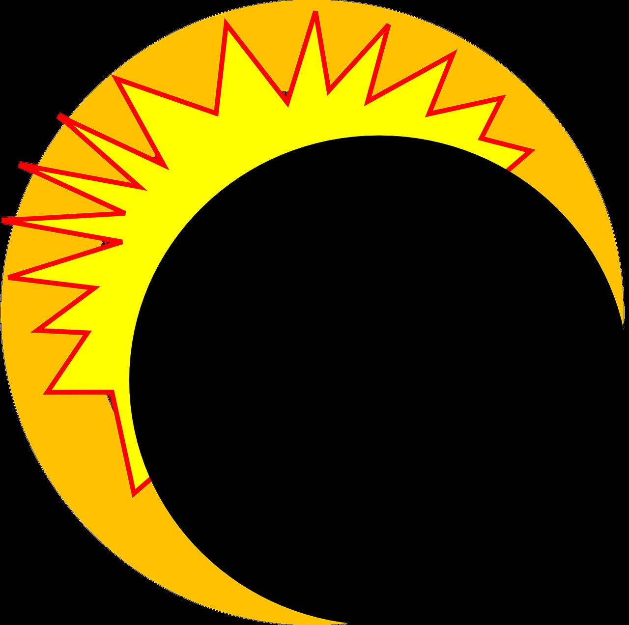 Eclipse,explosion,fire,ray,sun.