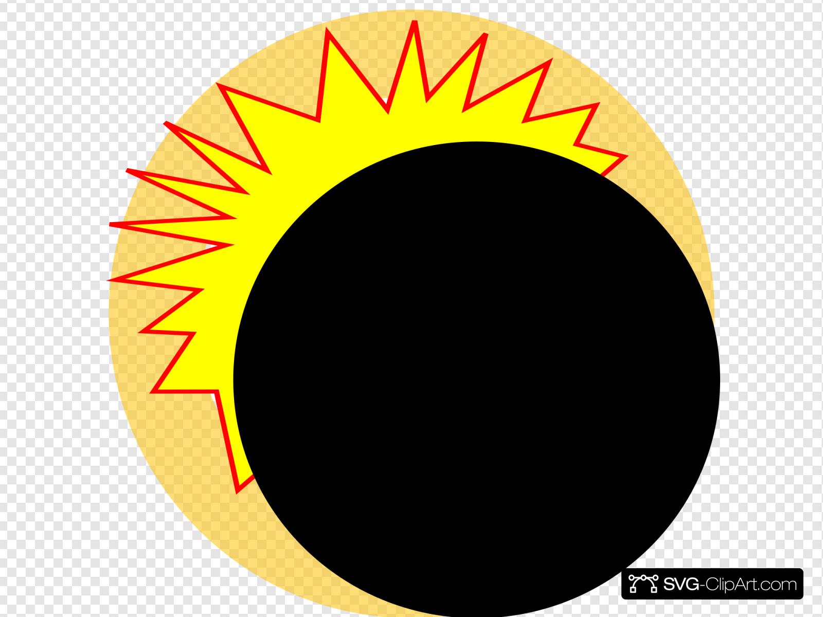 Eclipse Cartoon Clip art, Icon and SVG.