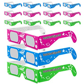 Amazon.com : Solar Eclipse Glasses CE and ISO Certified.