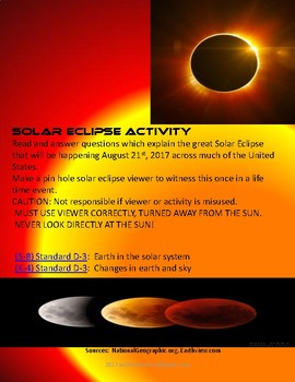 SOLAR ECLIPSE ACTIVITY.