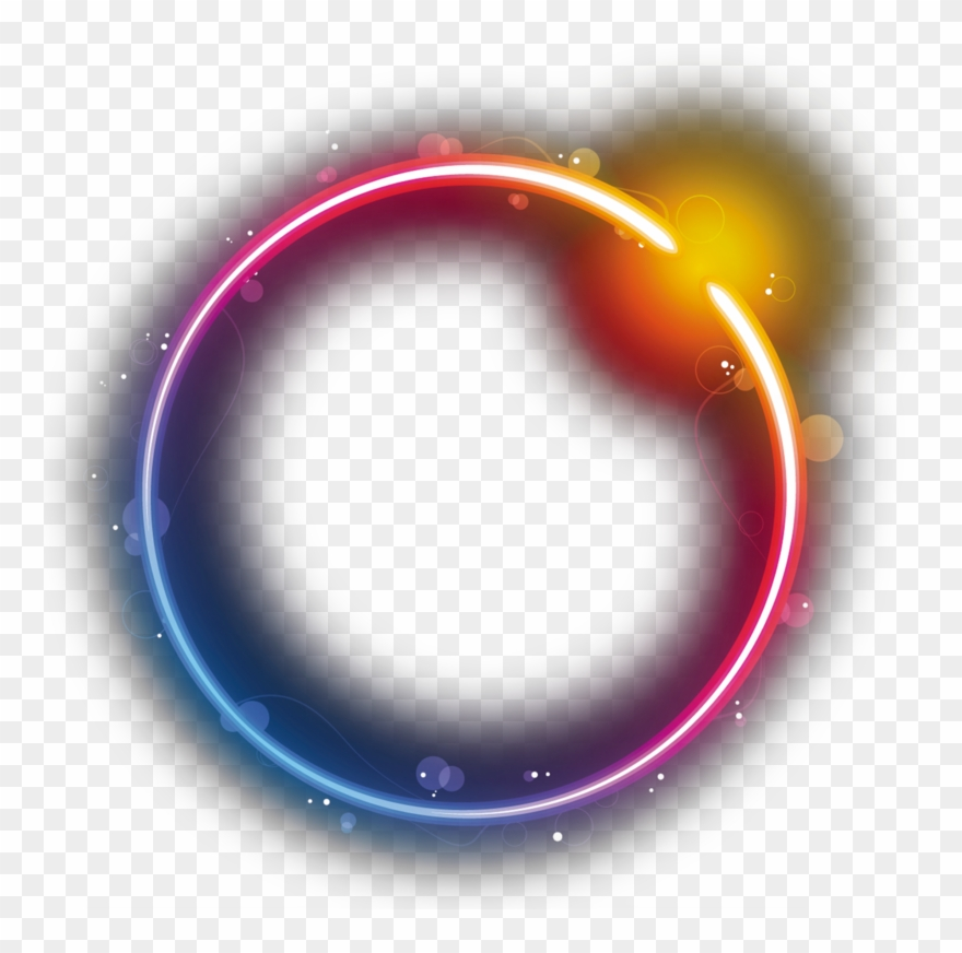 Logo Circle Star Eclipse Rainbow Png Free Photo.