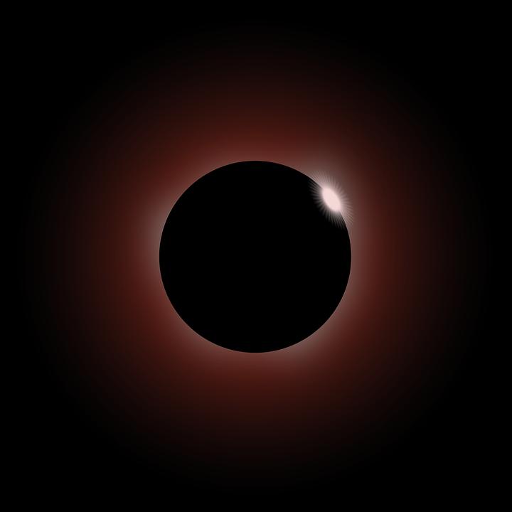 Solar Eclipse Moon Annular.