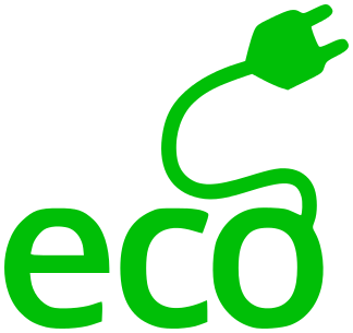 eco electricity green.