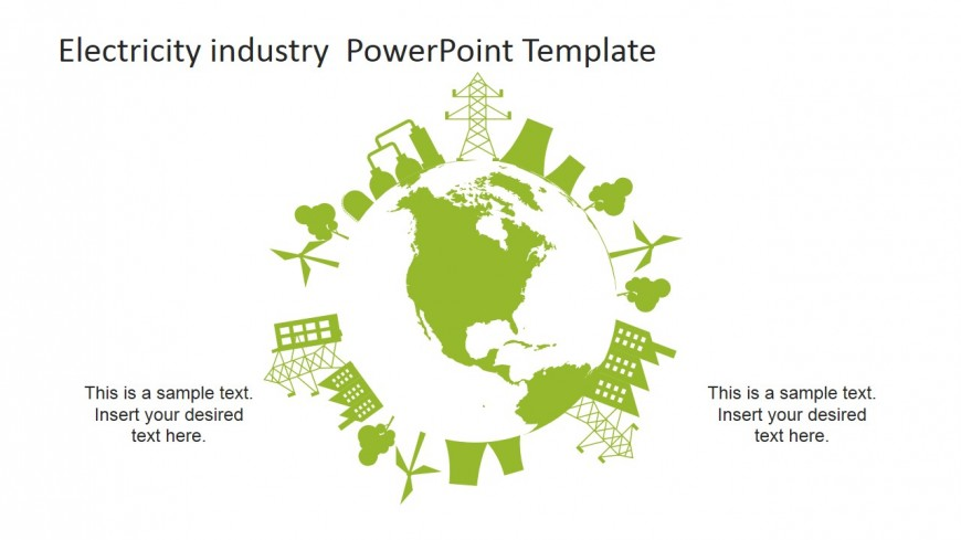 World electricity clipart.