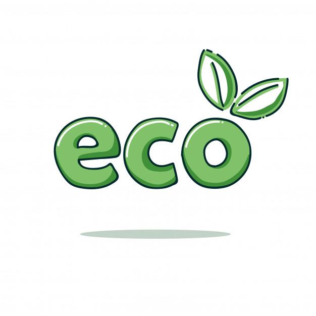 Eco logo template Vector.